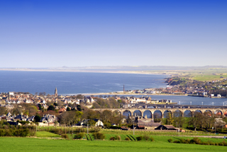 Berwick-upon-Tweed, our nearest town